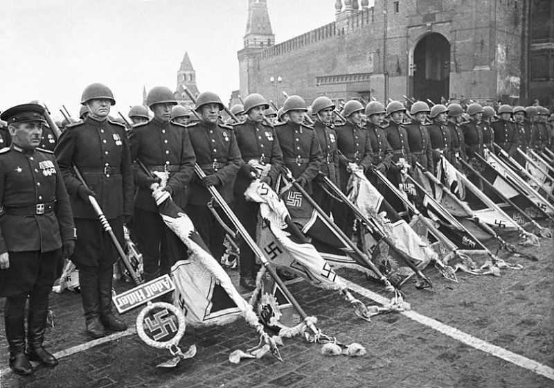Victory Parade june 24 1945 on Red Square