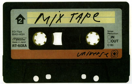 Behold the mix tape. The muscial vessel of emotions and feelings of repressed teenage love.