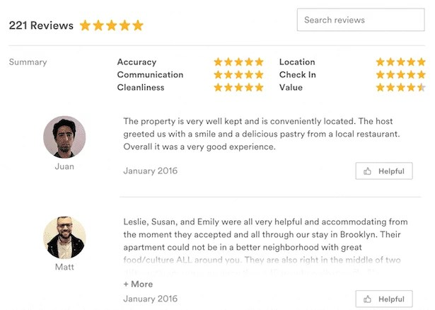 Reviews, testimonials and social proof help mitigate any creeping doubts