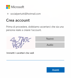 verifica mail outlook