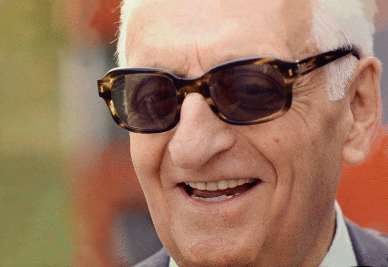Enzo Ferrari a Maranello