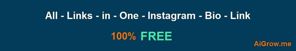 Tous les liens dans un seul Instagram