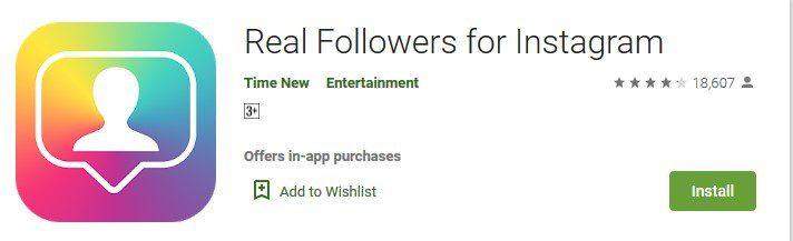 Real-followers-stagram-app