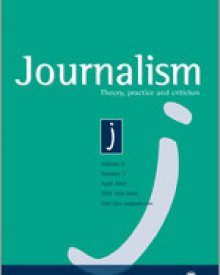 "Journalism: Theory, Practice, and Criticism (2017) — Henrik Bødker and Julia Sonnevend, ""The shifting temporalities of journalism: In memory of Kevin Barnhurst"""