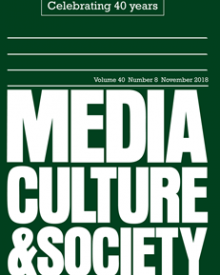 "Media, Culture, & Society (2018) — Julia Sonnevend, ""The Lasting Charm of Media Events"""
