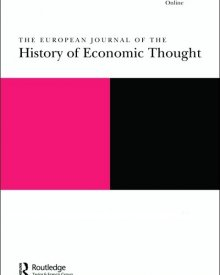 "Journal of the History of Economic Thought (2017) — Clara Elisabetta Mattei ""Austerity and repressive politics: Italian economists in the early years of the fascist government"""