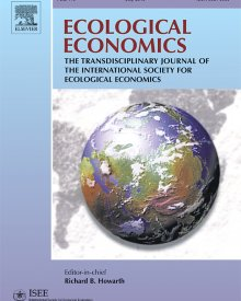 "Ecological Economics (2018) — Duncan Foley, ""Economic Growth, Income Distribution, and Climate Change"""