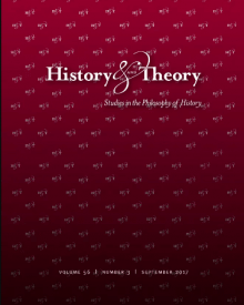 "History and Theory (2017) — Federico Finchelstein, ""Carl Schmitt in History and Theory"""