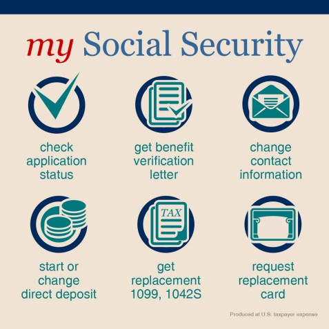 """""""Benefits of my social security account online"""""""