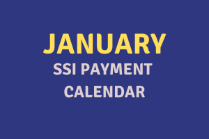 """January 2020 SSI Payment Schedule"""