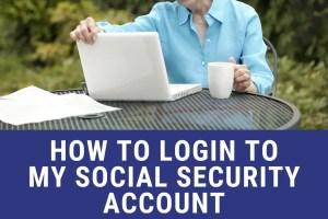 """Login to MySocialSecurity account online"""