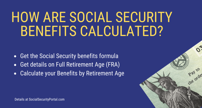 """How are Social Security Benefits Calculated"""