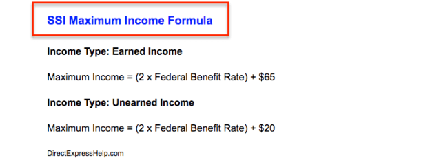 """SSI-Maximum-Income-limit-calculator"""