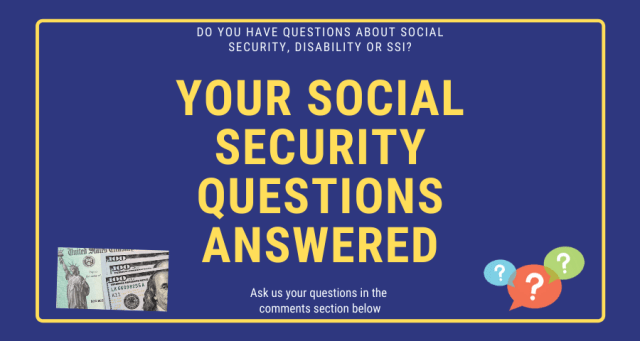 """""""Social Security Questions Answered"""""""