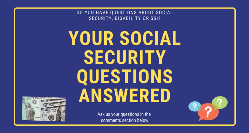 """Social Security Questions Answered"""