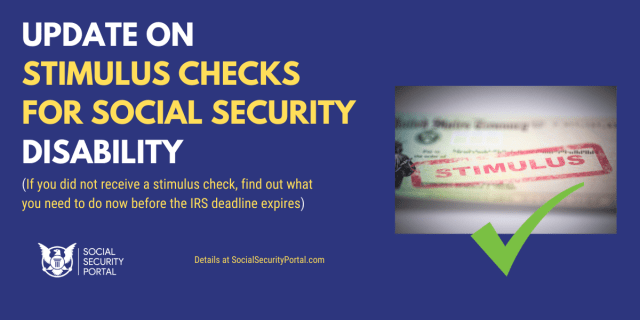 """Stimulus Check for SSI and SSDI Recipients"""