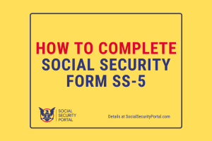 """Social Security Form SS-5"""