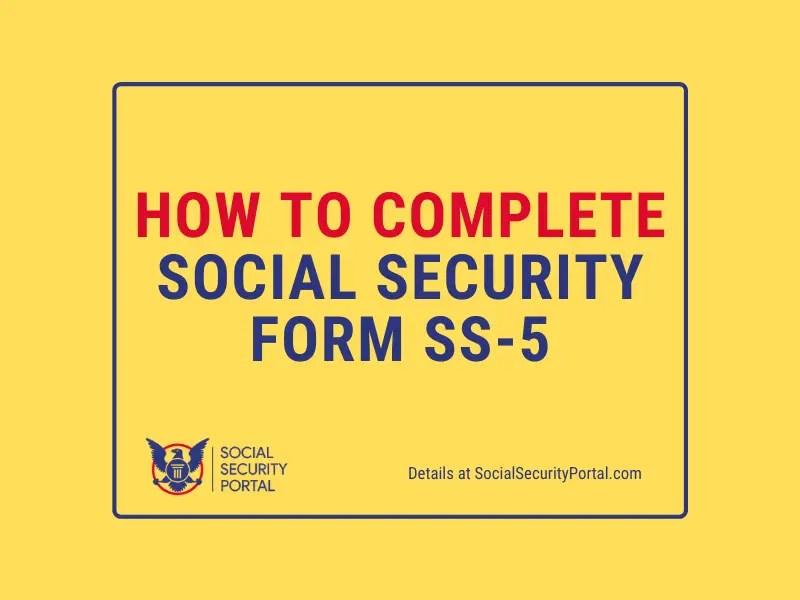 """Social Security Form SS-5"""