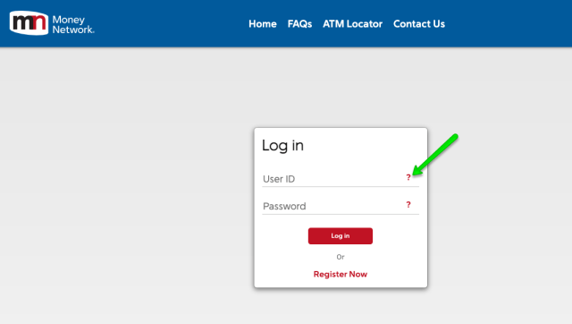 """EIP Card account forgot User ID"""