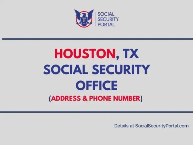 """Houston TX Social Security Office"""