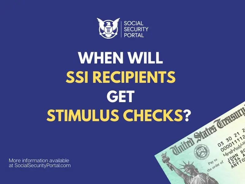 """SSI stimulus check direct deposit date"""