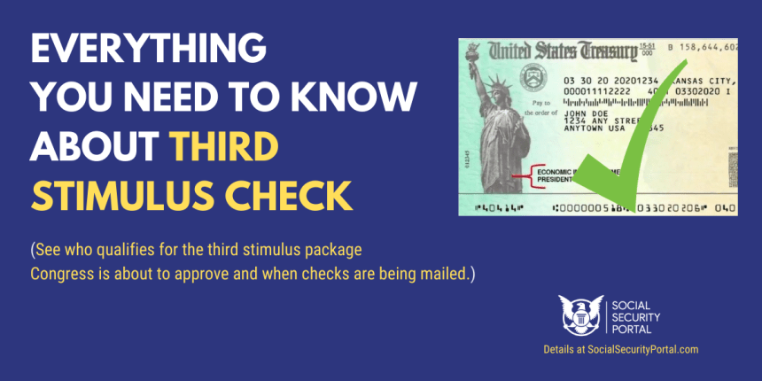 """Third Stimulus Check Eligibility and Deposit Dates"""