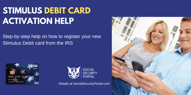 """How to Activate Stimulus Debit Card"""