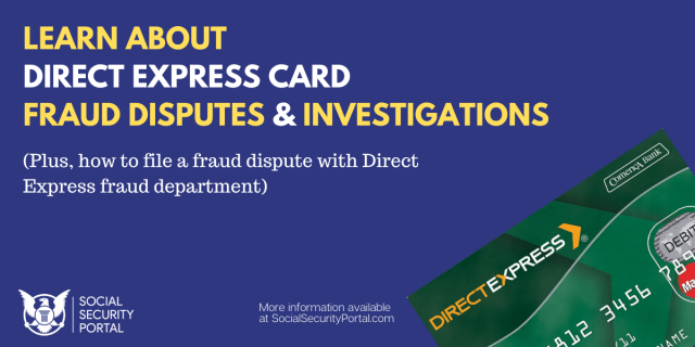 """""""Direct Express Fraud Investigations"""""""