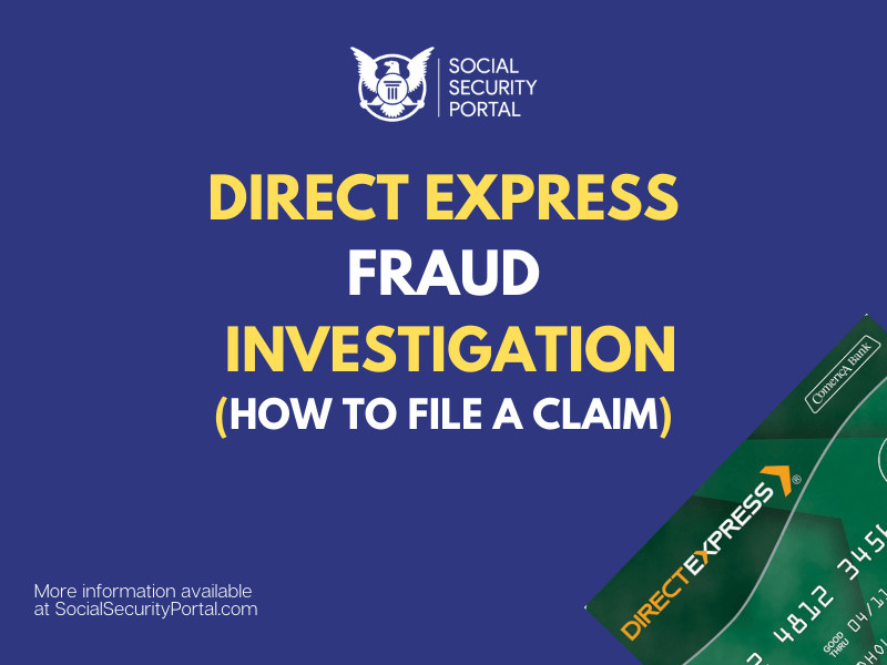 """""""Direct Express fraud department"""""""