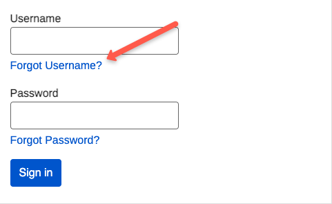 """Socialsecurity.gov FAQs-forgot username"""