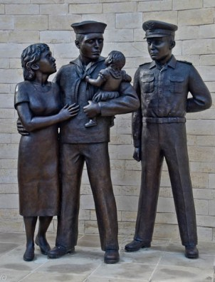 Navy Family - David Newton Sculptor