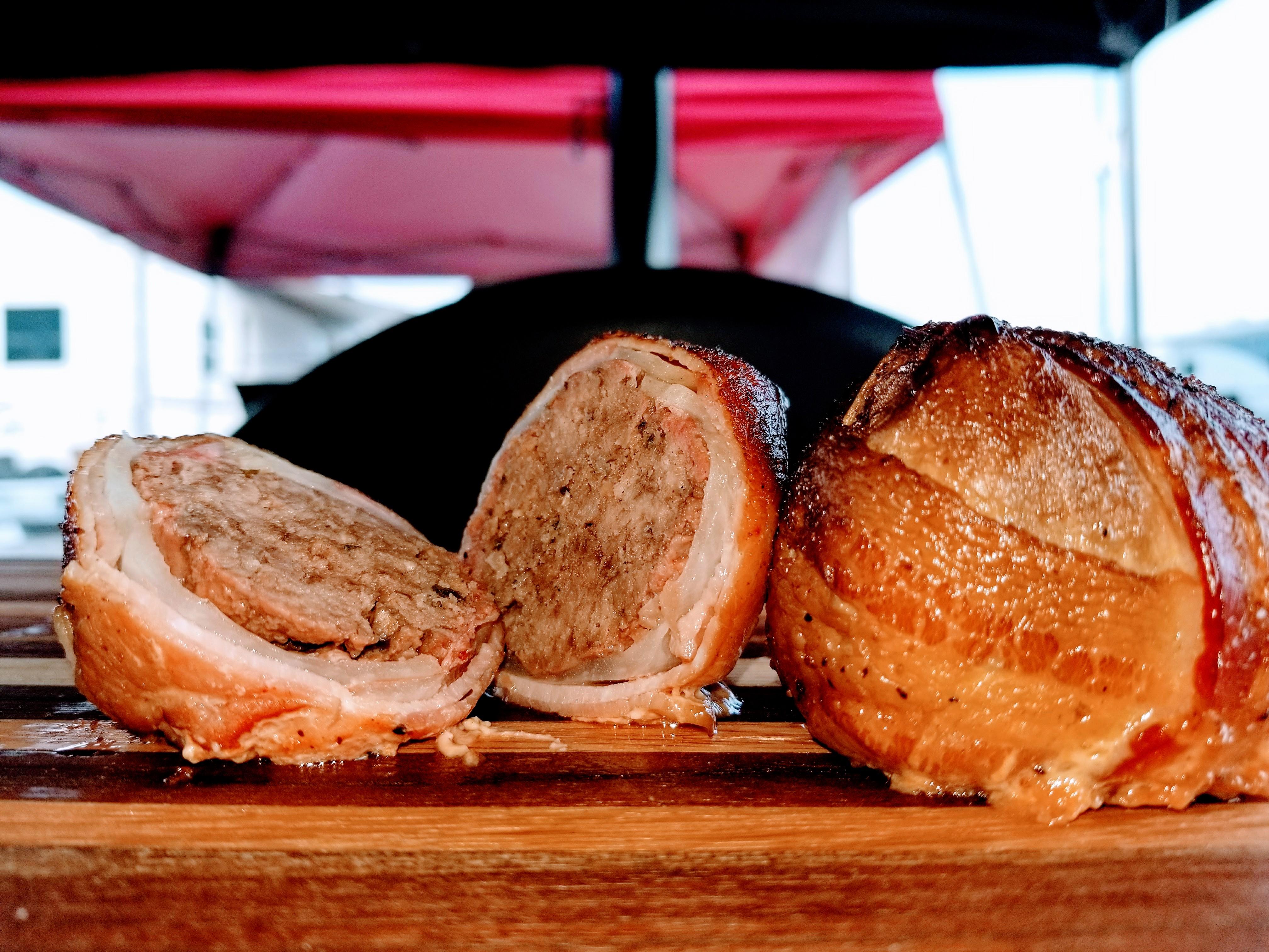 bbq meatball onion bombs social smokers bbq