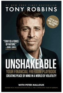 Tony Robbins Unshakeable - 12 Personal Development Books Coaches Love socialstephanie.com/blog