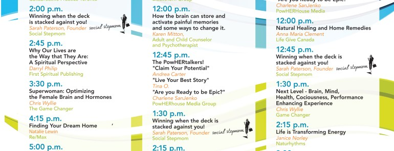 Come Check Out Social Stepmom at The National Women's Show and Hear Sarah Speak!