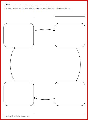Cycle Graphic Organizers can Help to Differentiate