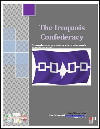 Differentiated Instruction lesson on the Iroquois Confederacy