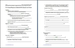 Basic Note Sheets