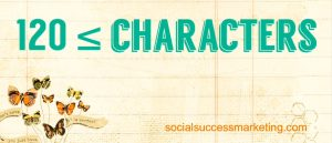 Social Meida Explained | Character count on Twitter