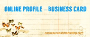 Social Media Explained | Social Media Profile - Your Online Business Card