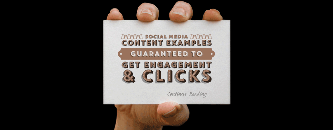 Social Media Post Examples | Guaranteed to Get Engagement & Clicks