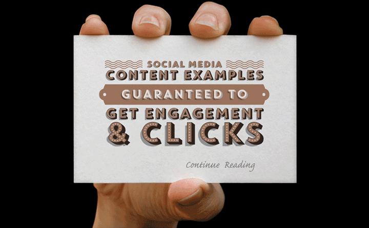 Social Media Content Example