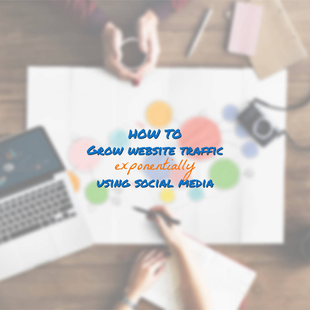 increase website traffic using social media