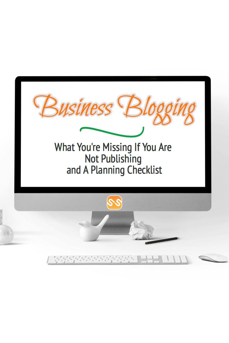 Business blogging: benefits and planning checklist