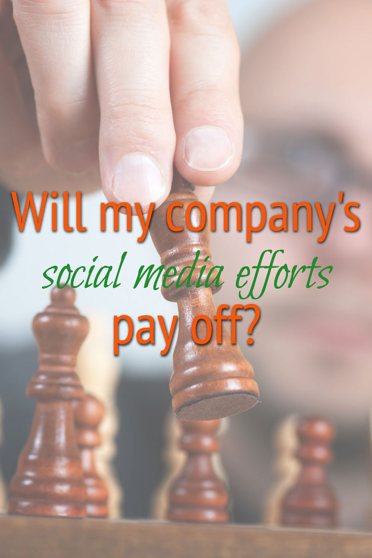 Will your company's social media efforts pay off?
