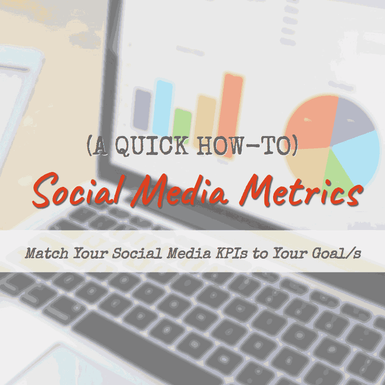 B2B Tips: Matching Social Media Metrics to Your Goals (Infographic)