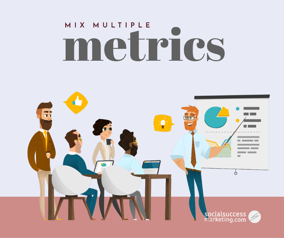 multiple social media marketing metrics