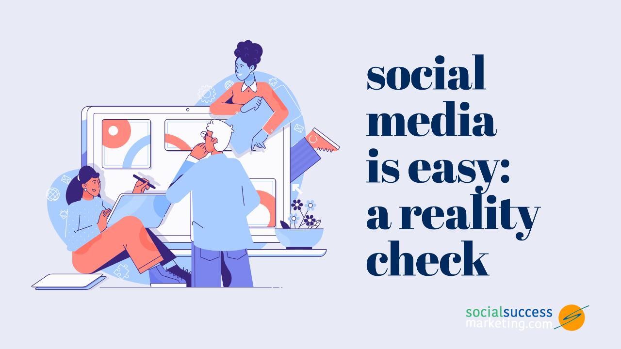 social media marketing reality