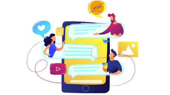 jumping in social media conversation