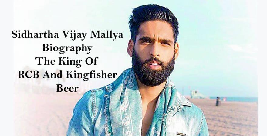 siddharth mallya Biography