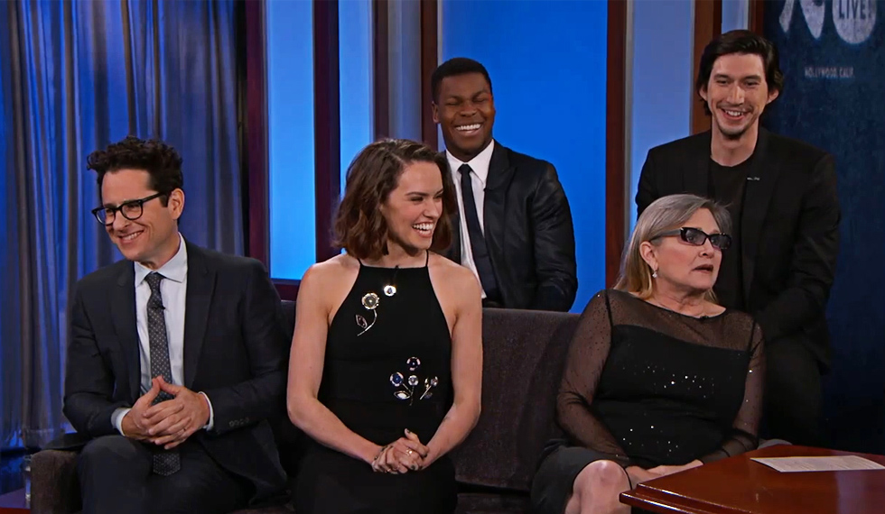 Star Wars The Force Awakens Cast Talks About Getting Their Roles  SocialUnderground